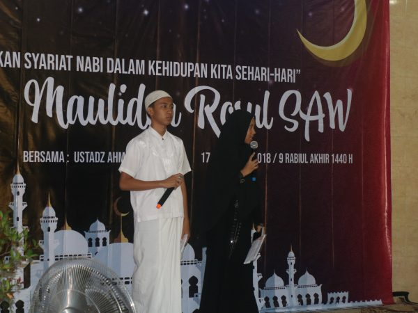 17 Desember 2019 - Memperingati Maulid Nabi Muhammad SAW
