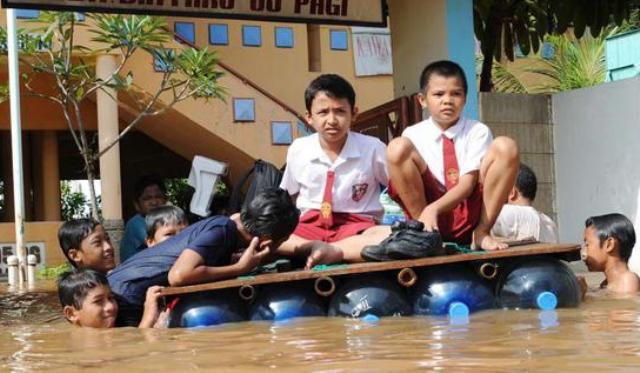 211 Sekolah di Jakarta Terdampak Banjir