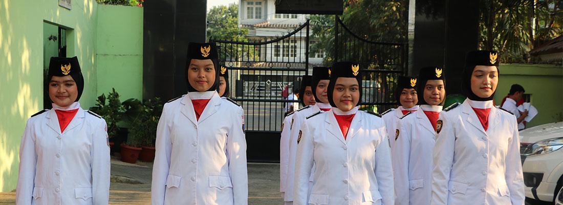 Paskibra SMKN 45 Jakarta