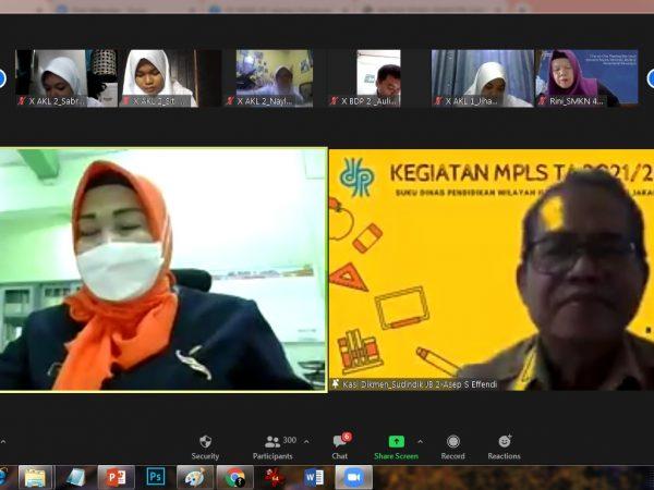 Kegiatan MPLS SMKN 45 Jakarta TP 2021-2022