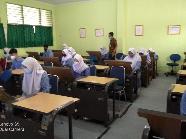 Kegiatan Simulasi ANBK SMKN 45 Jakarta