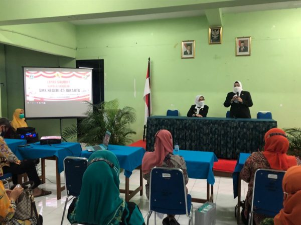 Kegiatan Lepas Sambut Kepala SMKN 45 Jakarta