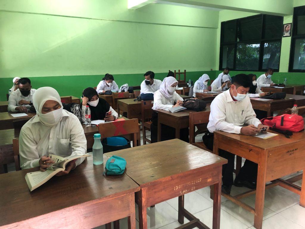 Kegiatan CAT PPPK Guru Tahun 2021