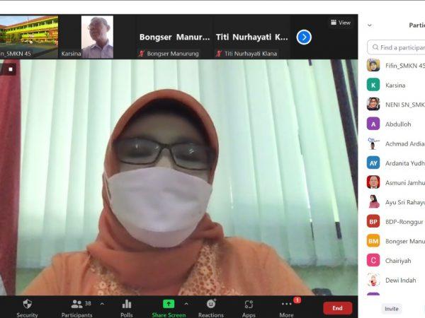 Rapat Koordinasi SMKN 45 Jakarta