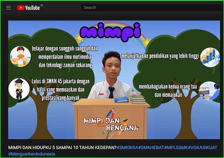 Juara 1 Favorit di Lomba Vlog Nasional Kementrian Pendidikan